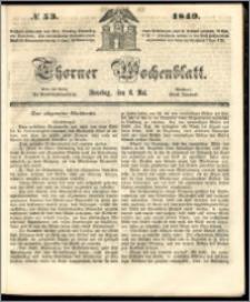 Thorner Wochenblatt 1849, No. 53 + Beilage