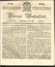 Thorner Wochenblatt 1849, No. 54