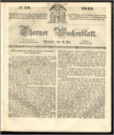 Thorner Wochenblatt 1849, No. 56 + Beilage