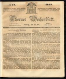 Thorner Wochenblatt 1849, No. 58