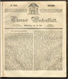 Thorner Wochenblatt 1849, No. 59