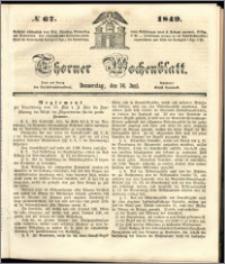 Thorner Wochenblatt 1849, No. 67