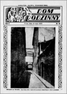Dom Rodzinny : dodatek tygodniowy Słowa Pomorskiego, 1933.05.14 R. 9 nr 20