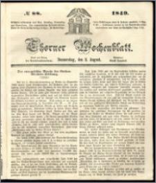 Thorner Wochenblatt 1849, No. 88