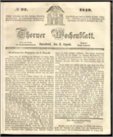 Thorner Wochenblatt 1849, No. 92