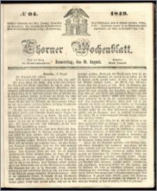 Thorner Wochenblatt 1849, No. 94