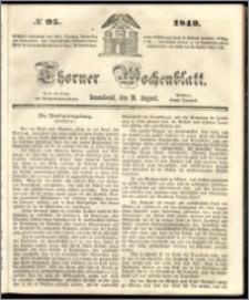 Thorner Wochenblatt 1849, No. 95