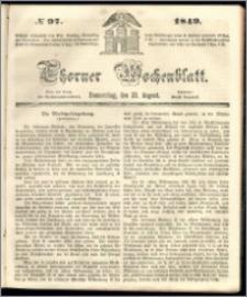 Thorner Wochenblatt 1849, No. 97