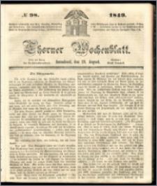 Thorner Wochenblatt 1849, No. 98