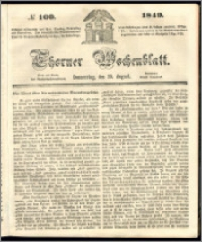 Thorner Wochenblatt 1849, No. 100