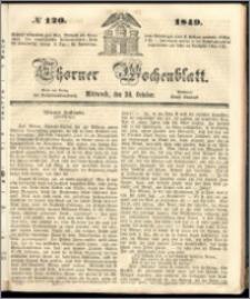 Thorner Wochenblatt 1849, No. 120