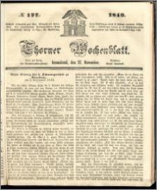 Thorner Wochenblatt 1849, No. 127 + Beilage