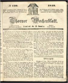 Thorner Wochenblatt 1849, No. 139