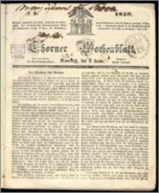 Thorner Wochenblatt 1850, No. 1