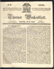 Thorner Wochenblatt 1850, No. 4