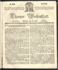 Thorner Wochenblatt 1850, No. 32