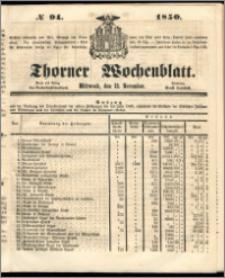 Thorner Wochenblatt 1850, No. 94