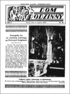 Dom Rodzinny : dodatek tygodniowy Słowa Pomorskiego, 1933.08.06 R. 9 nr 32