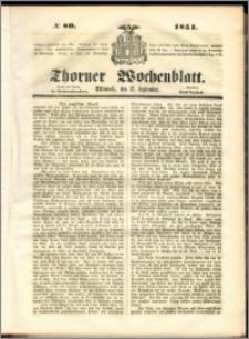 Thorner Wochenblatt 1851, No. 80