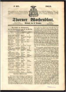 Thorner Wochenblatt 1851, No. 97