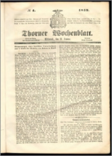 Thorner Wochenblatt 1852, No. 4