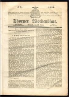 Thorner Wochenblatt 1852, No. 8