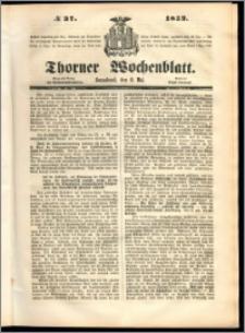 Thorner Wochenblatt 1852, No. 37