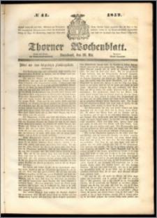 Thorner Wochenblatt 1852, No. 41