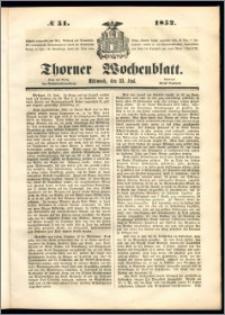 Thorner Wochenblatt 1852, No. 51