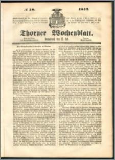 Thorner Wochenblatt 1852, No. 58