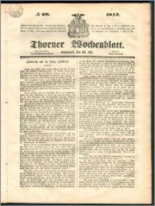 Thorner Wochenblatt 1852, No. 60