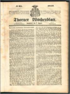 Thorner Wochenblatt 1852, No. 64