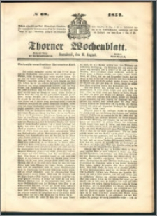 Thorner Wochenblatt 1852, No. 68