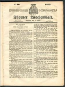 Thorner Wochenblatt 1852, No. 80