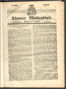 Thorner Wochenblatt 1852, No. 94