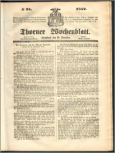 Thorner Wochenblatt 1852, No. 95