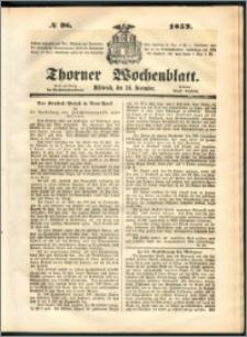 Thorner Wochenblatt 1852, No. 96