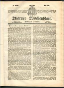Thorner Wochenblatt 1852, No. 98
