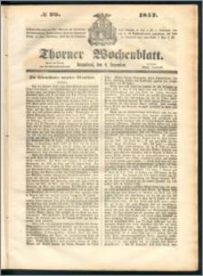 Thorner Wochenblatt 1852, No. 99