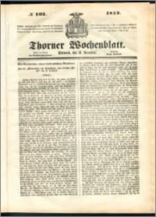Thorner Wochenblatt 1852, No. 102