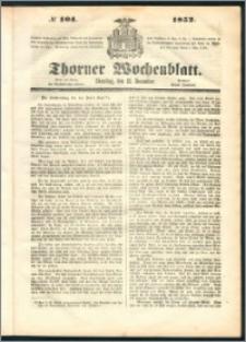 Thorner Wochenblatt 1852, No. 104