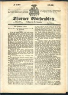 Thorner Wochenblatt 1852, No. 107