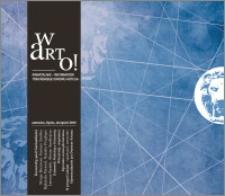 Warto! : kwartalnik informator toruńskiego Dworu Artusa : czerwiec-lipiec-sierpień 2013