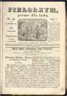 Pielgrzym, pismo religijne dla ludu 1873 nr 40