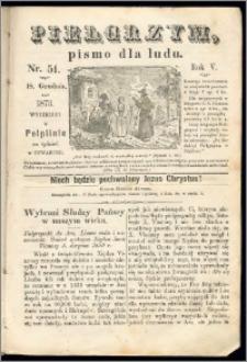 Pielgrzym, pismo religijne dla ludu 1873 nr 51