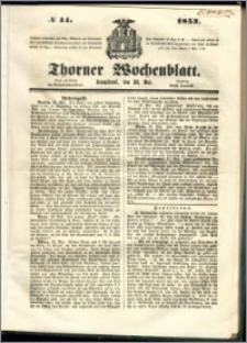 Thorner Wochenblatt 1853, No. 44