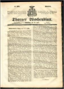 Thorner Wochenblatt 1854, No. 32