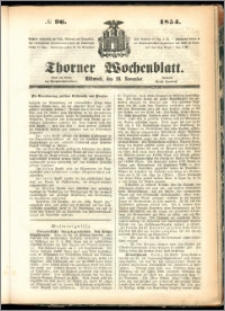 Thorner Wochenblatt 1854, No. 96