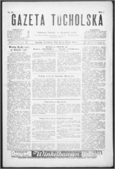 Gazeta Tucholska 1928, R. 1, nr 34