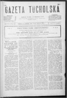Gazeta Tucholska 1928, R. 1, nr 65